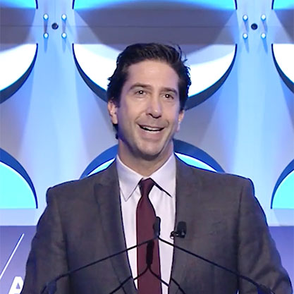 Video thumbnail, David Schwimmer, actor, director, and producer